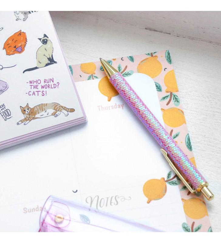 "Ручка ""Pink"" с блестками"