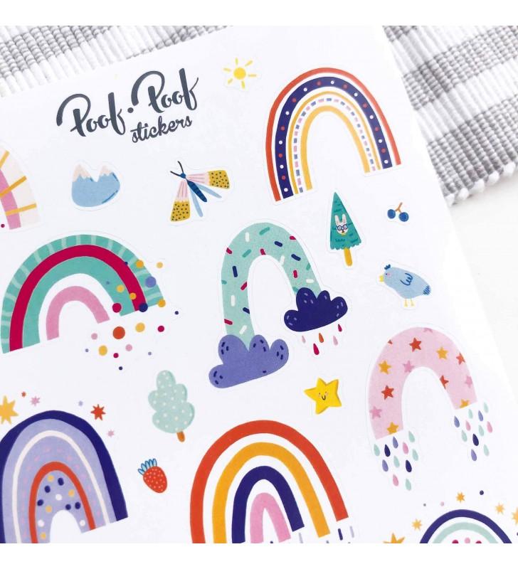 "Наклейки ""Rainbow"""