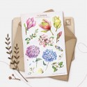 "Наклейки ""Flowers"" Гортензия"