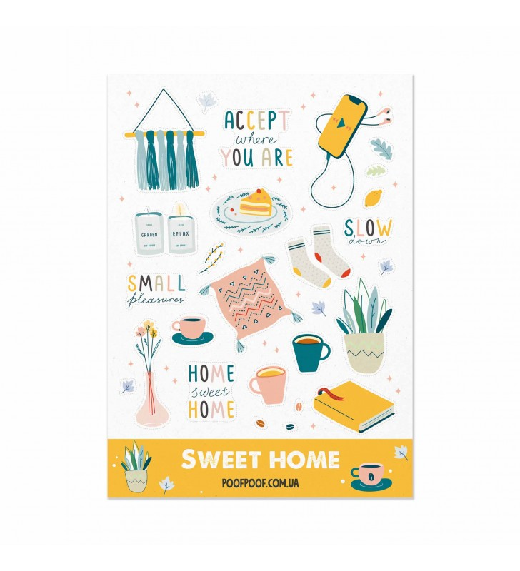 """Наклейки """"Sweet Home"""""""