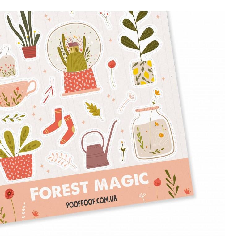 """Наклейки """"Forest magic"""""""