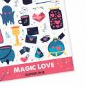 """Наклейки """"Magic Love"""""""