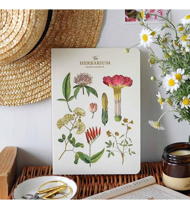 "Скетчбук ""Herbarium"" Campsis"