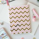 "Блокнот в линию ""Pink zigzag"""
