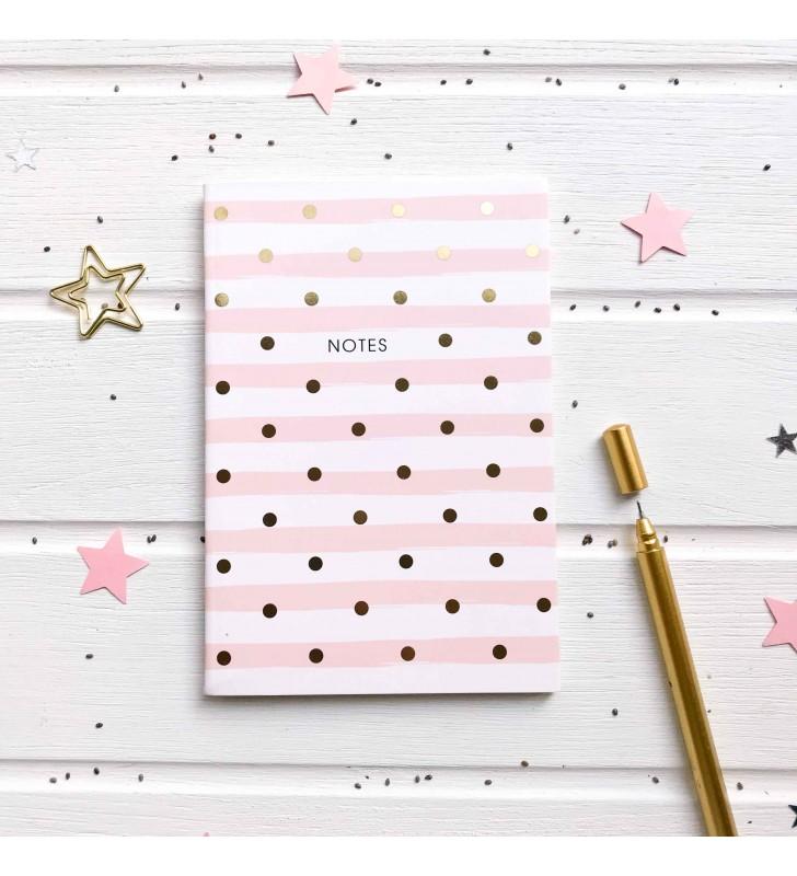 """Мини-блокнот в клеточку """"Notes"""" pink"""