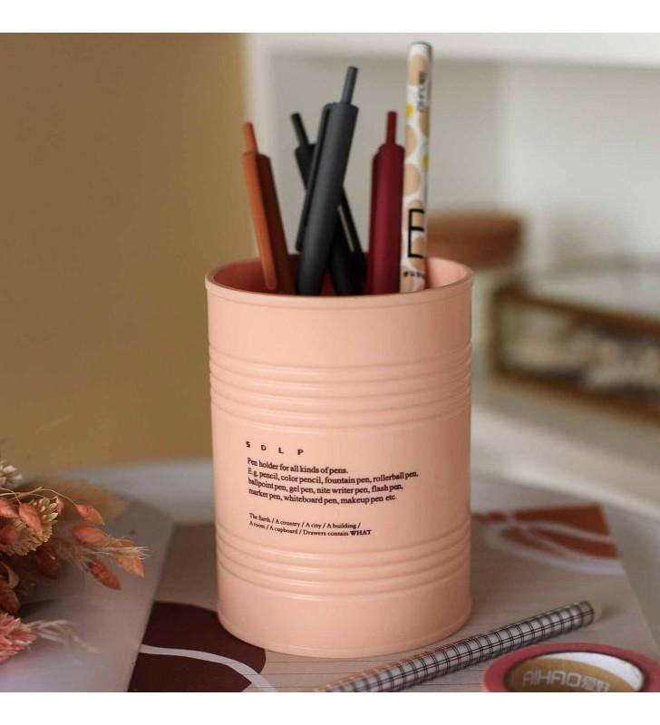"""Подставка для ручек """"Бочка"""" pink"""
