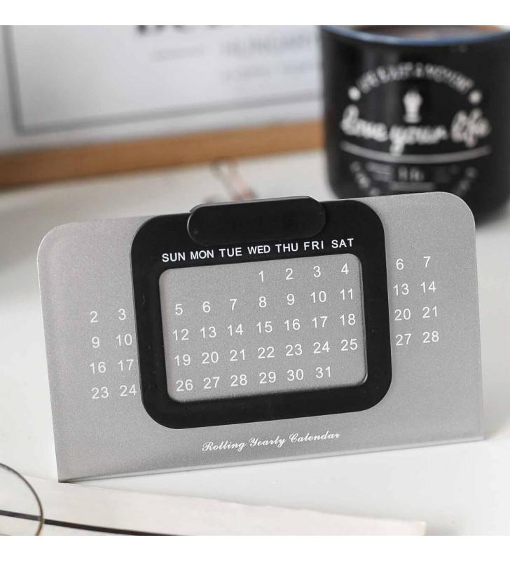 """Вечный календарь """"Metalic"""" Black"""