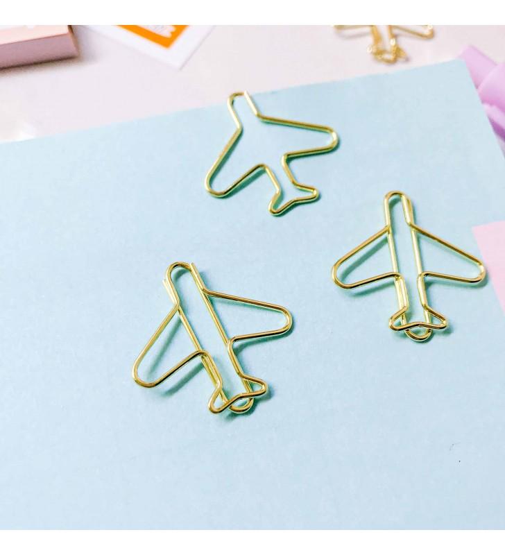"Скрепка-закладка ""Plane"" 2"