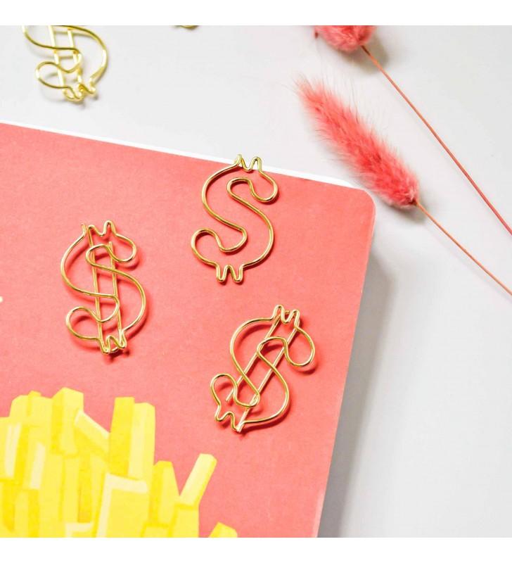 """Скрепка-закладка """"Money"""""""