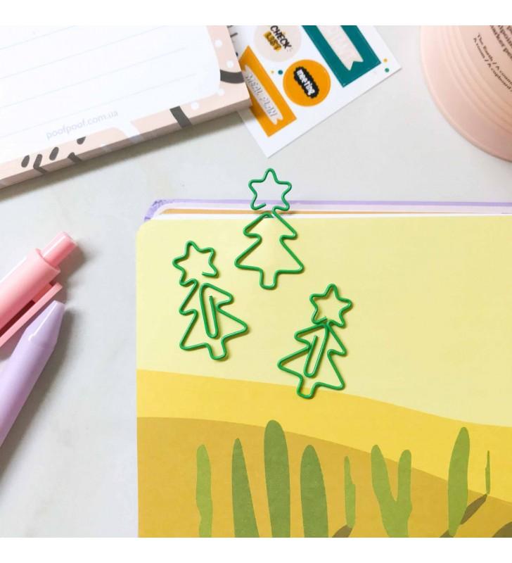 "Скрепка-закладка ""Christmas tree"""