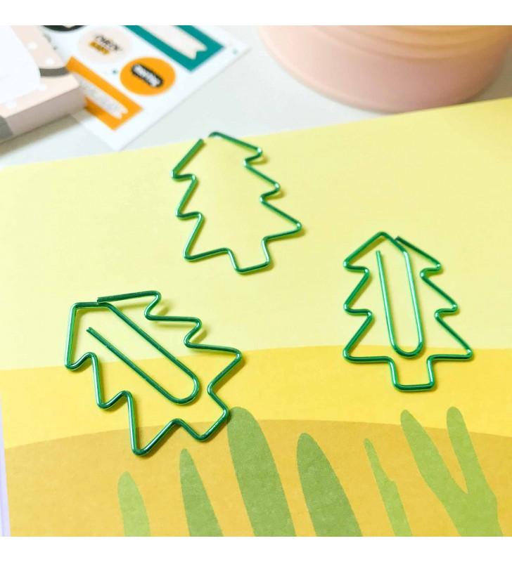 """Скрепка-закладка """"Pinetree"""""""