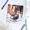 "Тетрадь =48 ""Artist"" painting"