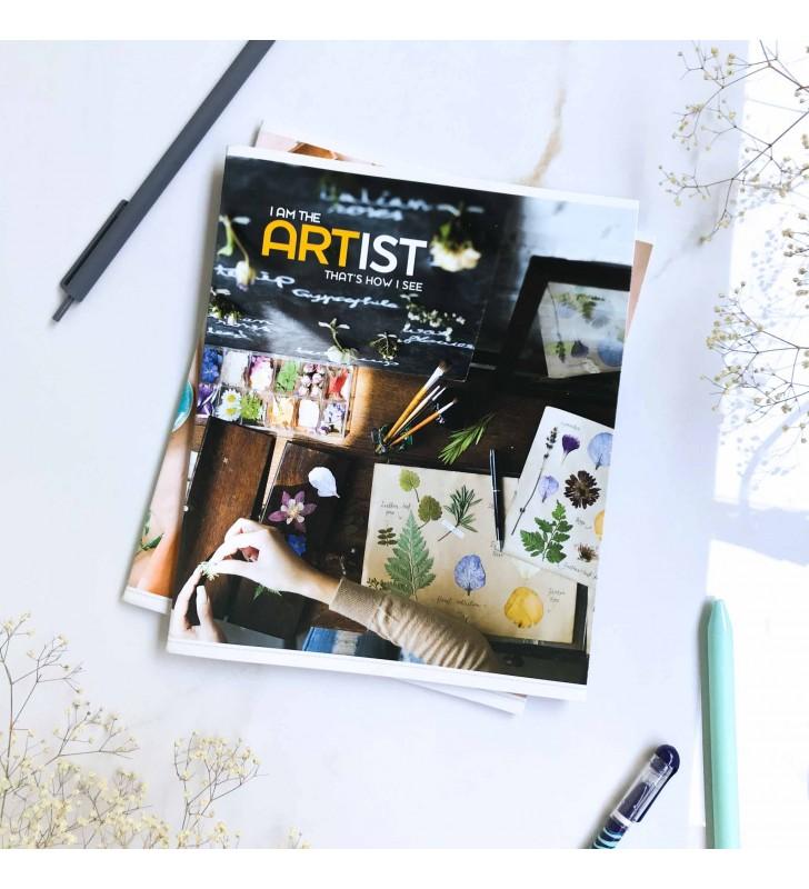 "Тетрадь =48 ""Artist"" botanic"