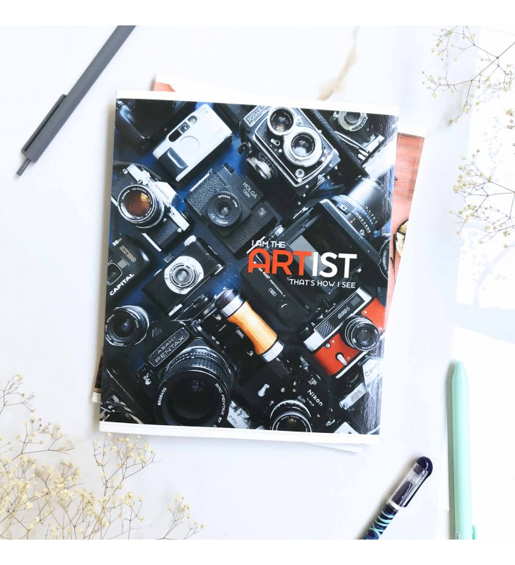 "Тетрадь =48 ""Artist"" camera"
