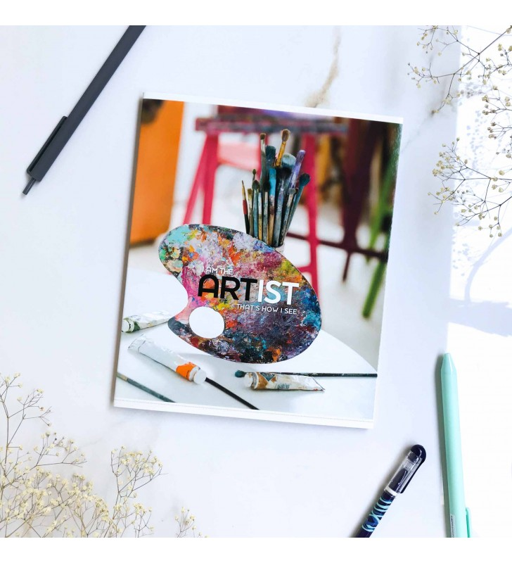 "Тетрадь #60 ""Artist"" painting"