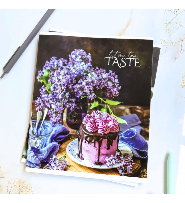 "Тетрадь =60 ""Taste"" lilac"