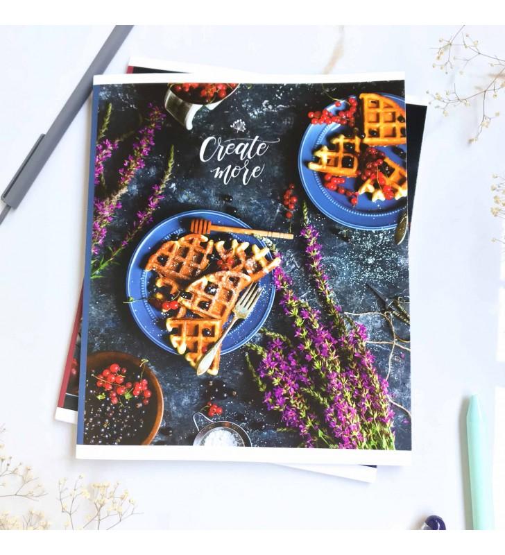 "Тетрадь =60 ""Create more"" waffles"