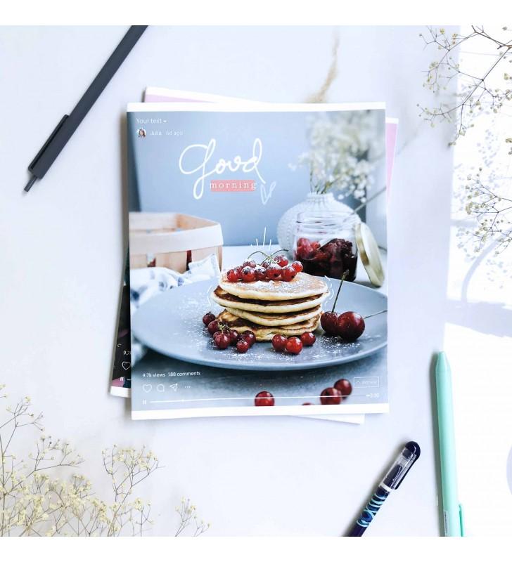 "Тетрадь #48 ""Post"" berrie pancakes"