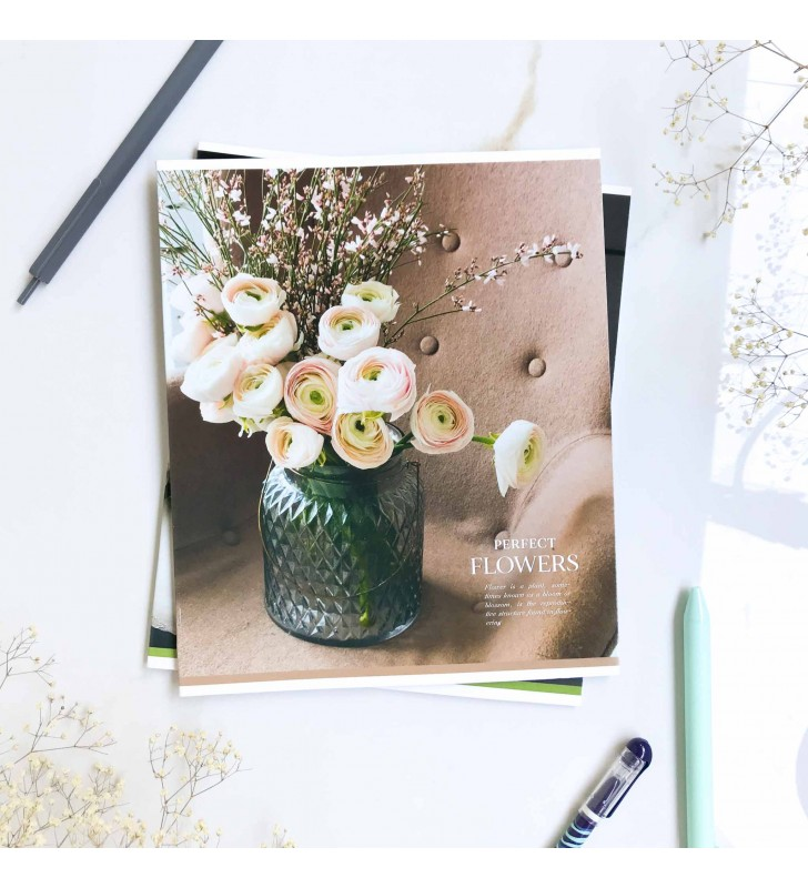"""Тетрадь #36 """"Flowers"""" roses"""