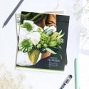 "Тетрадь #36 ""Flowers"" succulent"