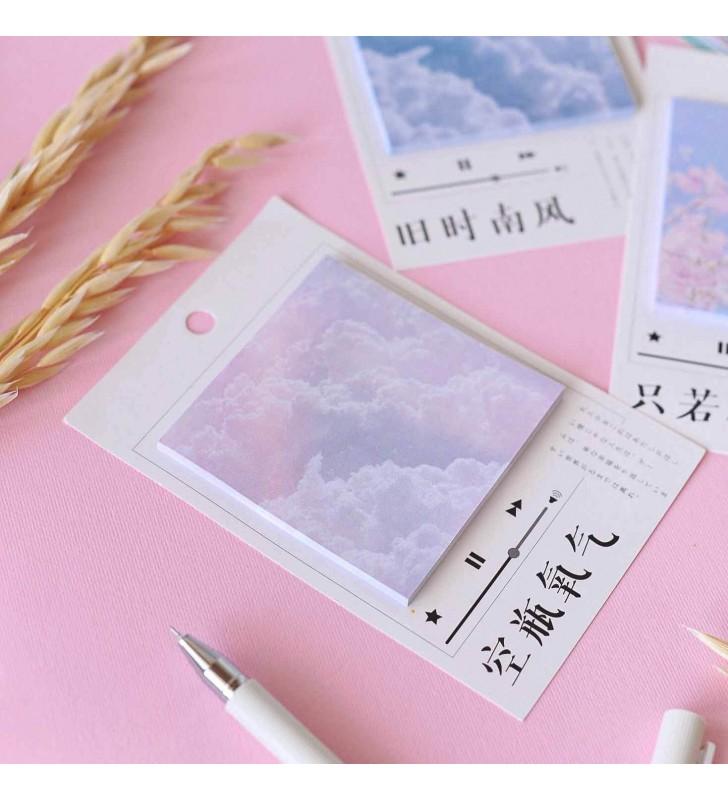 "Стикеры ""Pink sky"""