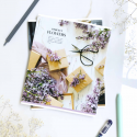 "Тетрадь #36 ""Flowers"" lilac"