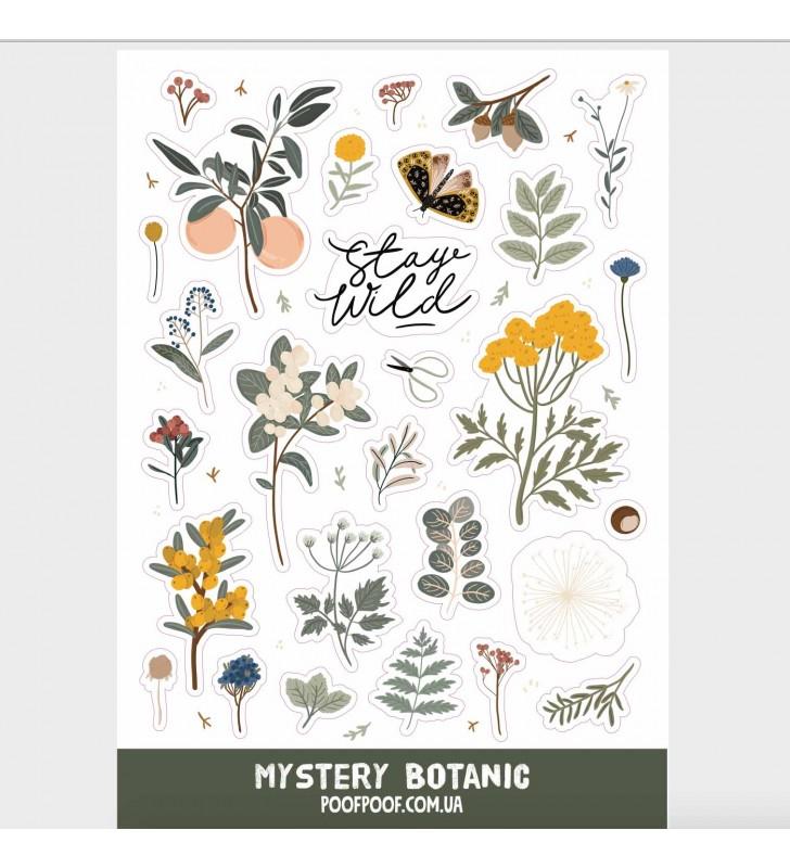 "Наклейки ""Mystery botanic"""