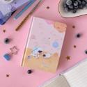 """Блокнот 3в1 """"Space Cat"""" розовый"""
