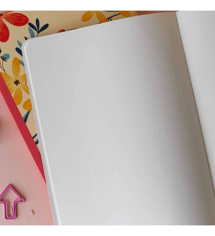 """Блокнот в точку """"Spots"""" pink"""