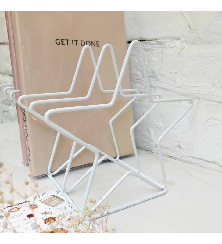 "Подставка для книг ""Star"" white"
