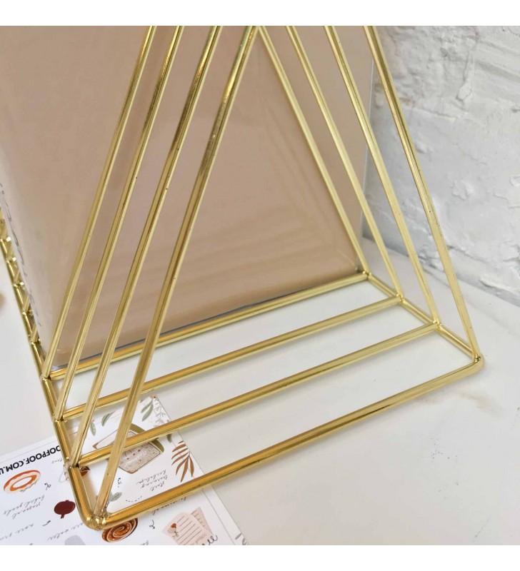 "Подставка для книг ""Triangle"" gold"