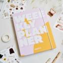 """Недельный планер """"Weeekly planner"""" pink"""