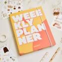 "Недельный планер ""Weeekly planner"" orange"
