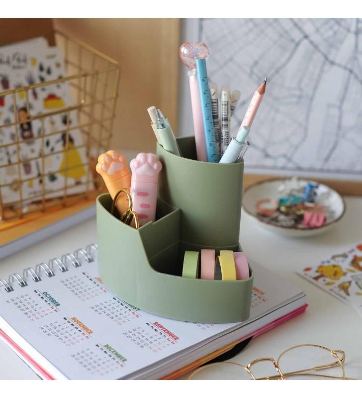 """Подставка для ручек """"Pastel"""" green"""