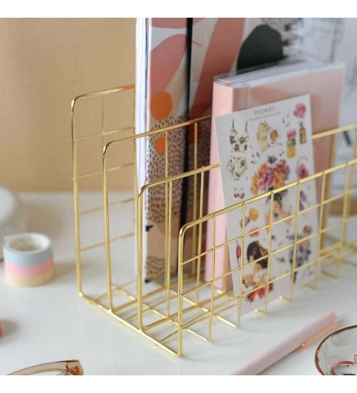"""Подставка для книг """"Style"""" gold"""