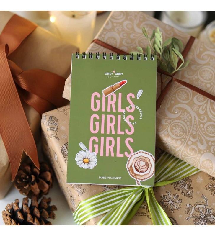 """Стикербук """"Girls girls"""""""