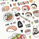 """Наклейки """"Sushi"""" small"""