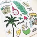 """Наклейки """"Summer"""" adventure small"""
