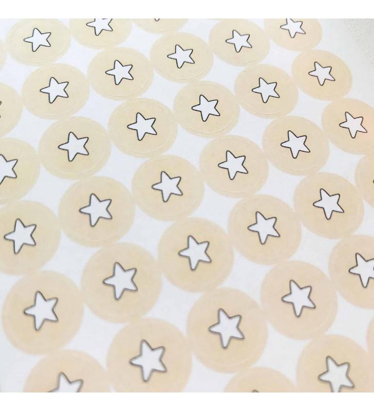 "Наклейки ""White Stars"""