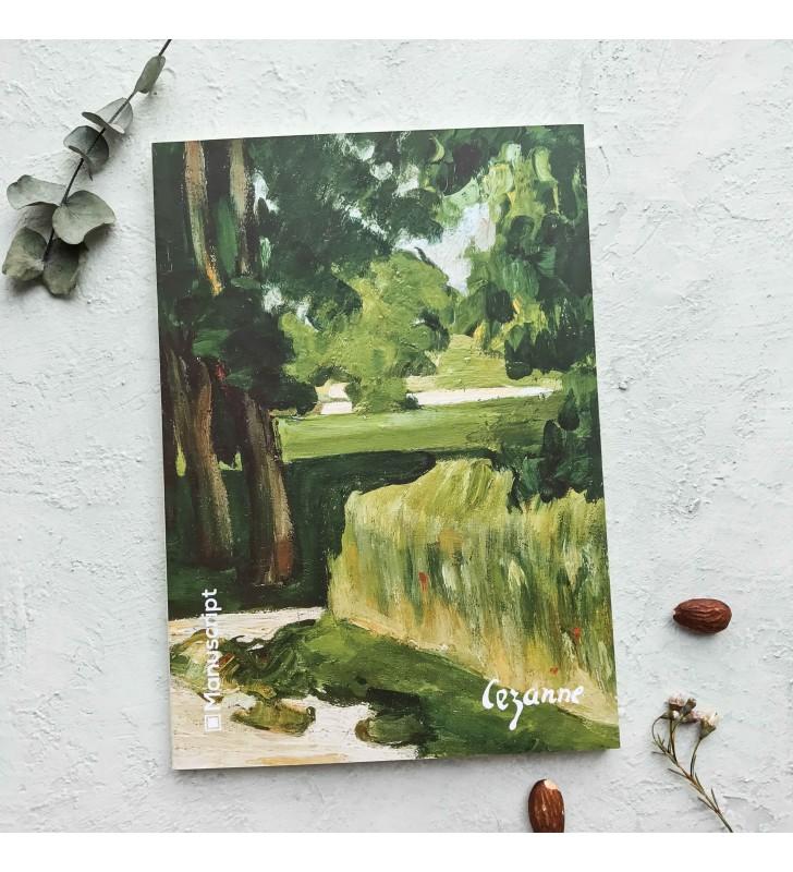 "Скетчбук ""Cézanne 1874"""