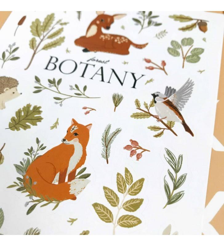 """Наклейки """"Botany"""""""