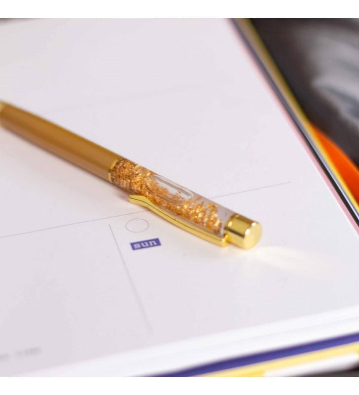 "Подарочная ручка ""Firework"" золотая"
