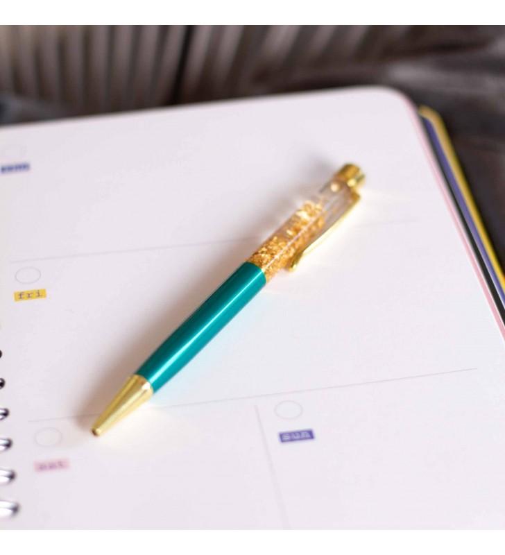 """Подарочная ручка """"Firework"""" бирюзовая"""