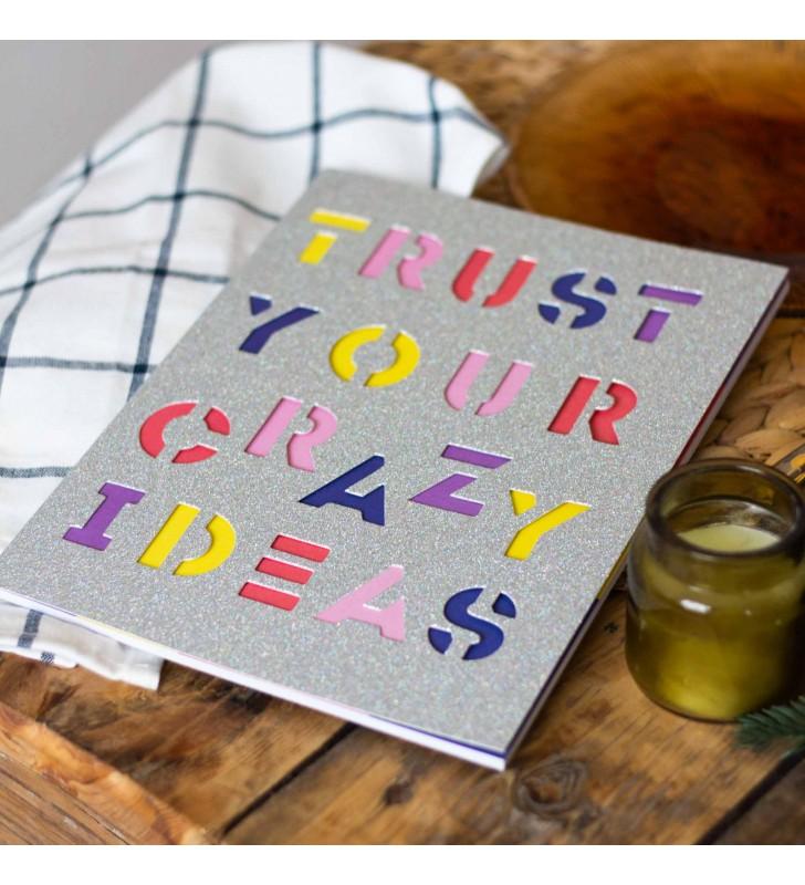 """Блокнот в линию """"Crazy ideas"""""""