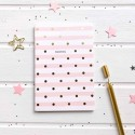 "Мини-скетчбук ""Notes"" светло-розовый"