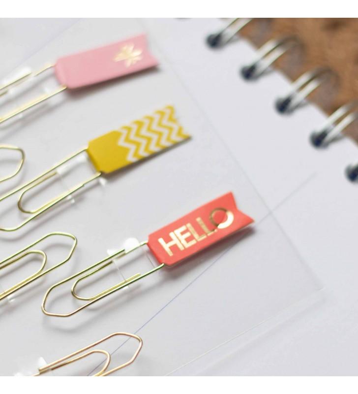 "Набор скрепок-закладок ""Bookmarks"""