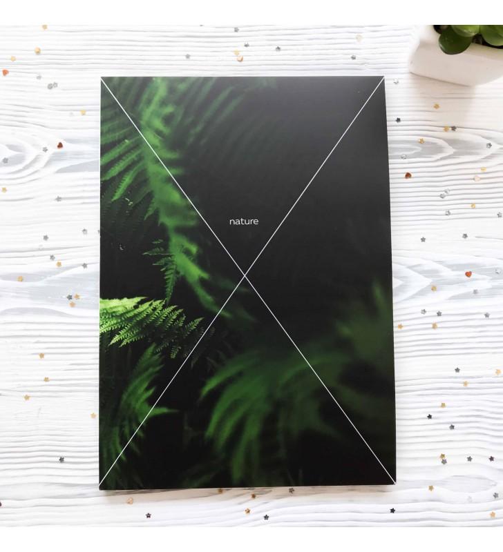 """Скетчбук """"Nature"""" fern"""