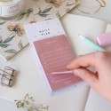 "Блокнот для заметок ""Daily plan"" pink"