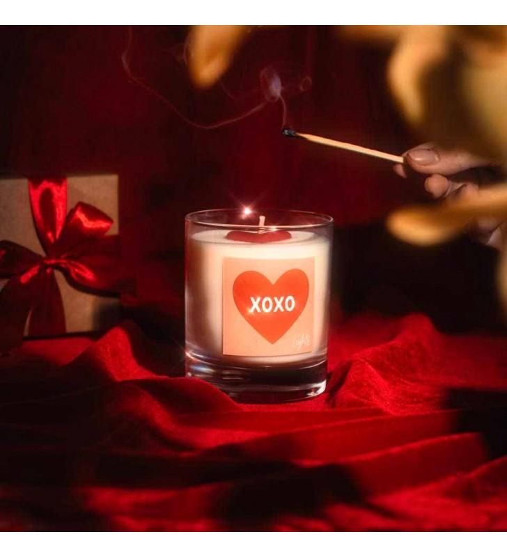 """Свечка """"Lights"""" Valentines"""