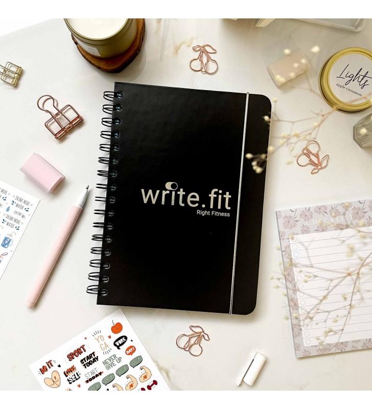 "Спортивный планер ""Write.fit"" black"